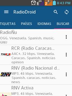 Emisoras de Venezuela.
