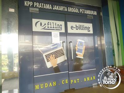 FOTO 1 :  Pelaporkan SPT Masa ke KPP Pratama Jakarta Gropet  Pakai Surat Penunjukan