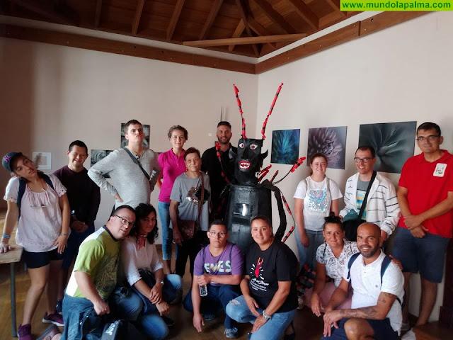 La Asociación de Niños Especiales de La Palma visita Tijarafe