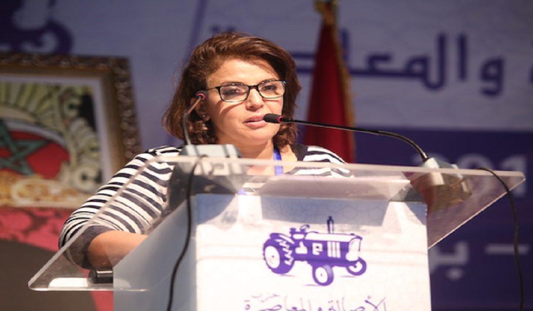 """الشبيبة البامية ترفع شعار """"ارحل الكور"""" في وجه الناطقة الرسمية باسم حزب خديجة الكور"""