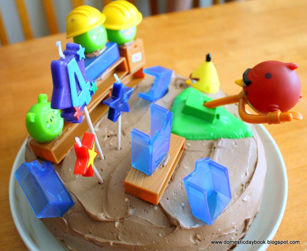 Brilliant Simple Angry Birds Birthday Cake Funny Birthday Cards Online Sheoxdamsfinfo