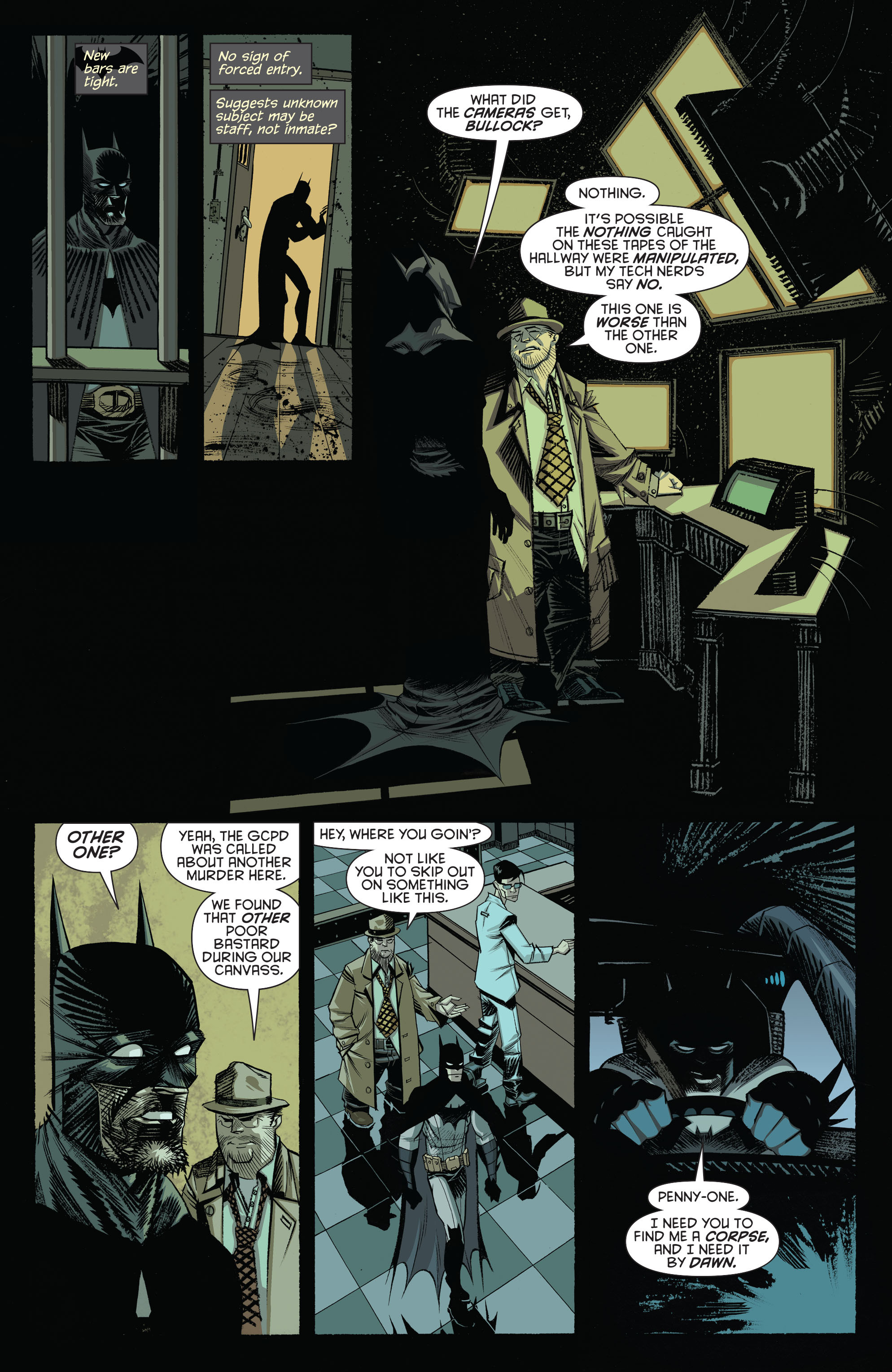 Read online Arkham Manor comic -  Issue #1 - 17