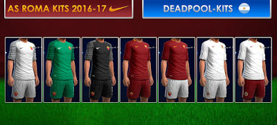 PES 2013 AS Roma GDB 2016-2017 by DEADPOOL