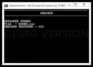 Cara Mudah Bobol Password Rar atau Winrar