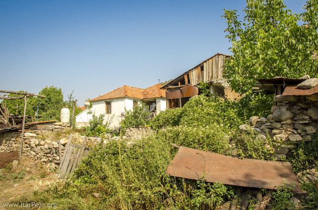 Gradeshnica village in Mariovo