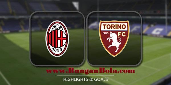 Live Streaming AC Milan dan Torino 21 Agustus 2016