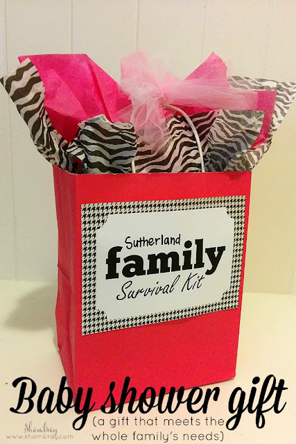 family baby shower gift ideas | baby shower gift ideas survival kits