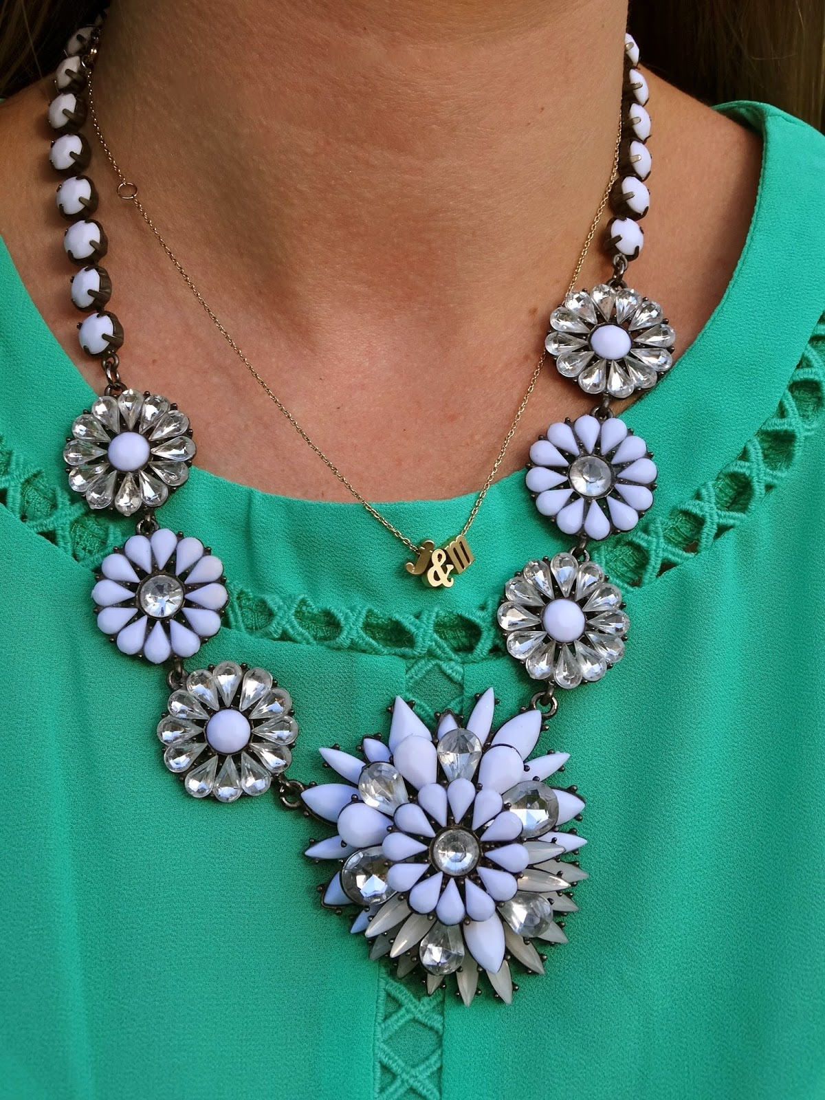 Shop Prima Donna Necklace, worn by Jen Jeffery of House Of Jeffers | www.houseofjeffers.com