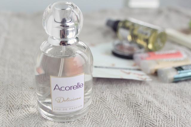 luonnonkosmetiikka acorelle hajuvesi parfyymi delicious