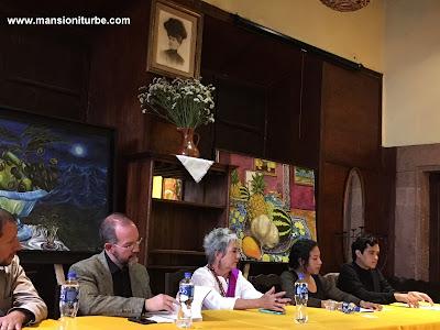 Presentación del Libro de Soledad Tafolla Levorini en Restaurante Doña Paca de Mansión Iturbe.