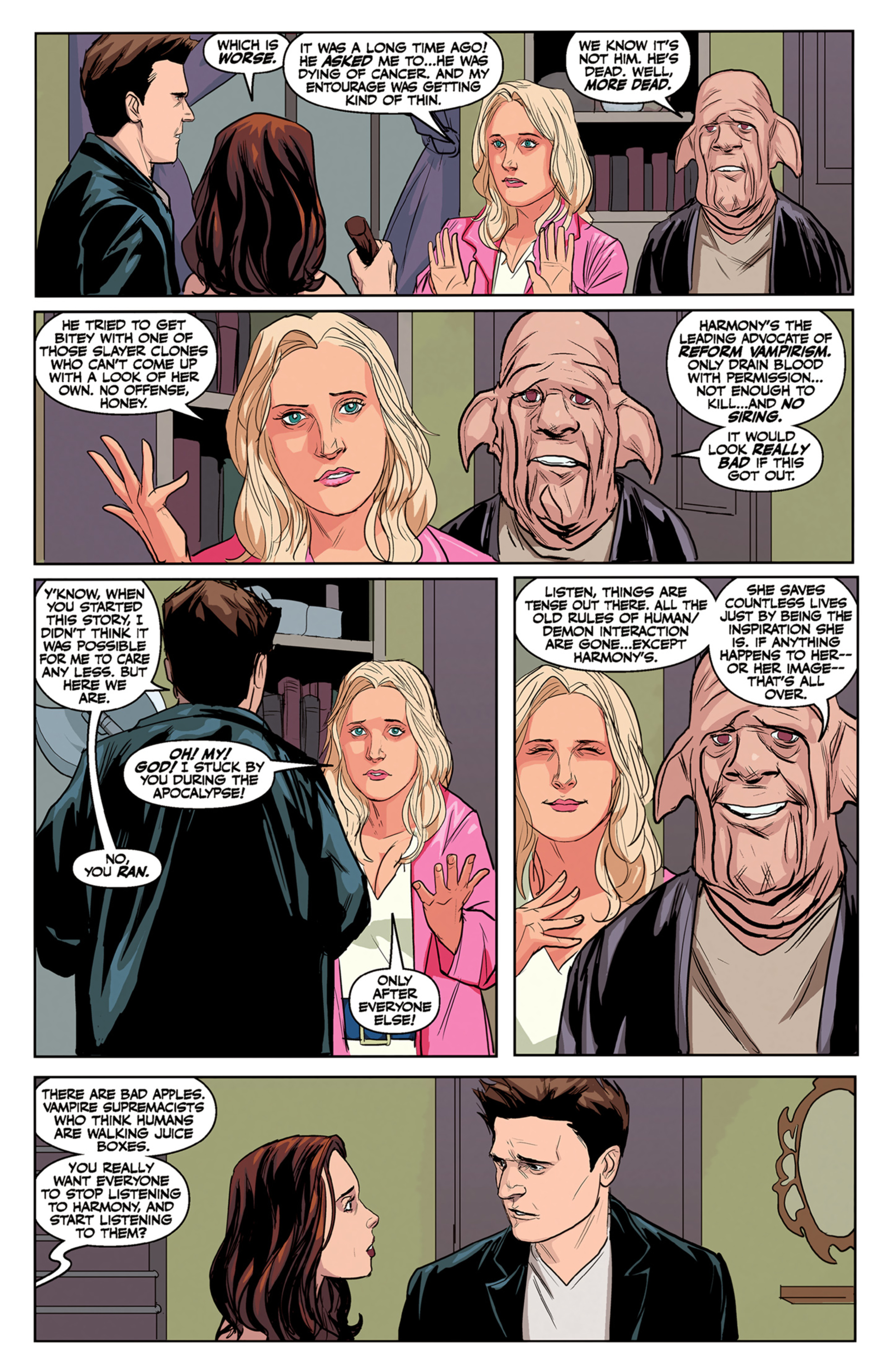 Read online Angel and Faith comic -  Issue #5 - 8