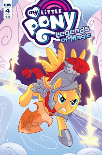 My Little Pony: Legends of Magic #4 Revealed