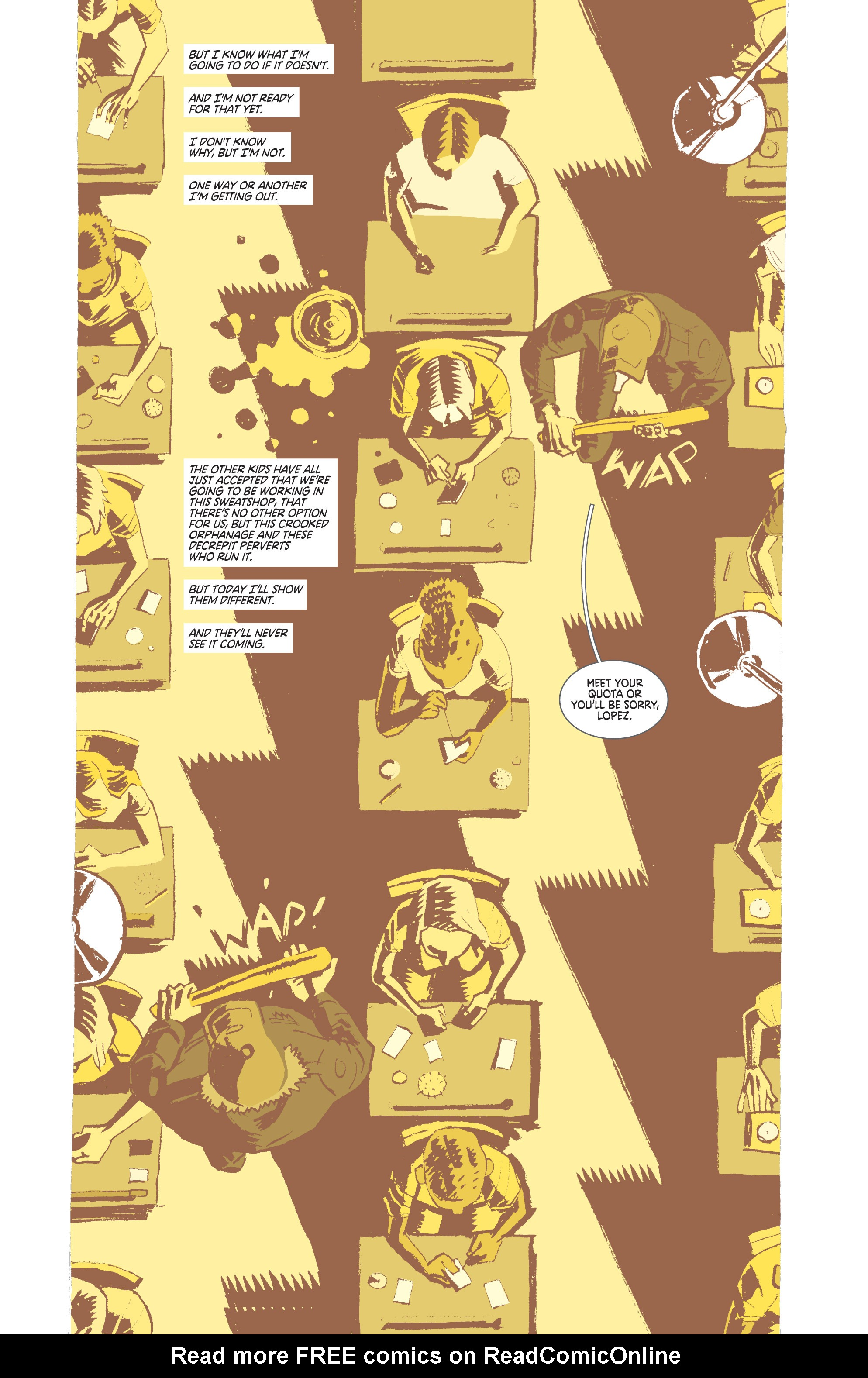 Read online Deadly Class comic -  Issue #8 - 6