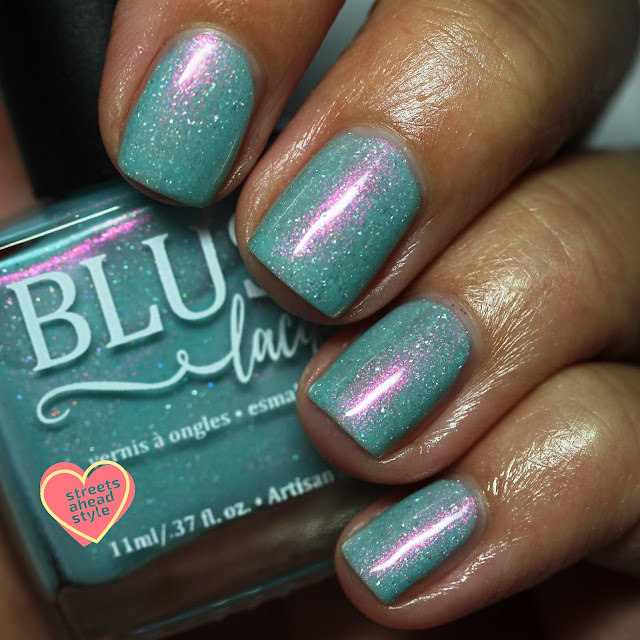 BLUSH Lacquers Tropical Escape Seasonal Indie Box swatch by Streets Ahead Style