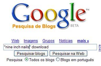 Google Blog Search - 2011