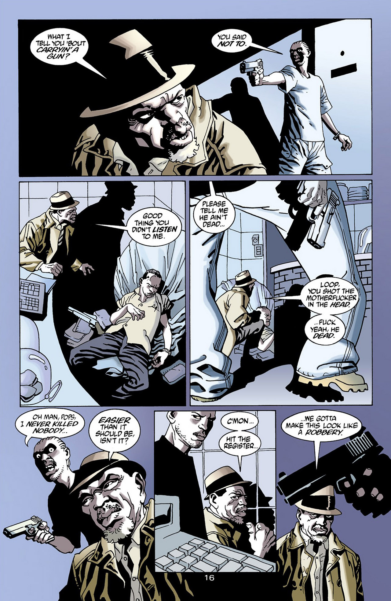 Read online 100 Bullets comic -  Issue #16 - 17