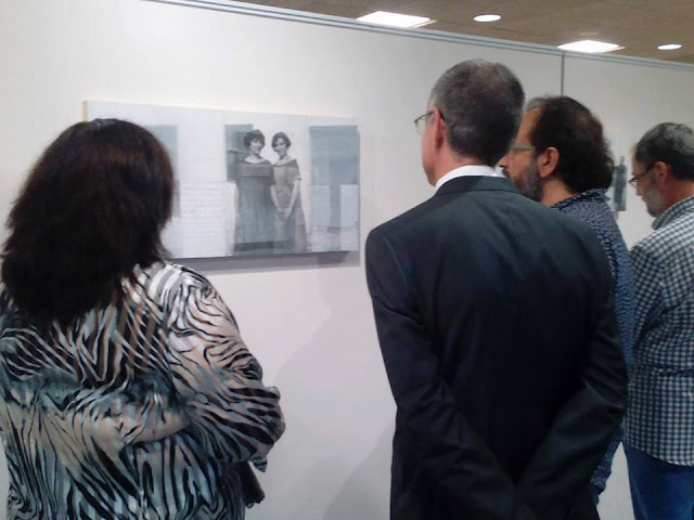 """Inauguración de la exposición: """"El reflejo de un fragmento""""."""