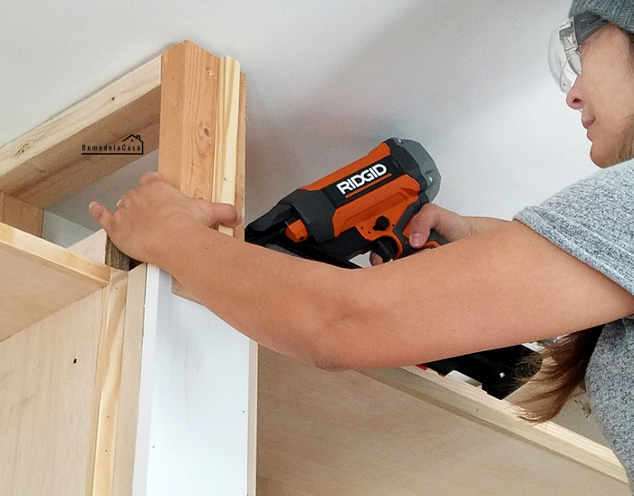 DIY - Built-in entertainment unit in family room #tools