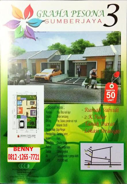 Graha Pesona Sumber Jaya 3 Tambun Rumah Subsidi Dekat Ke Stasiun Tambun 2018