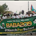 #BABA2019 : Bauchi Youths Stage A Rally In Support Of Buhari's Continuity (pics)