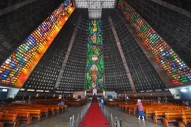 Catedral Metropolitana do Rio de Janeiro.