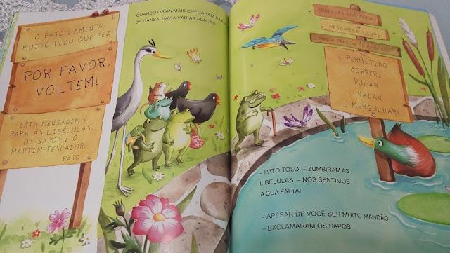 Livro infantil: O Pato Mandão.