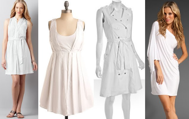 White Dresses For Spring And Murder