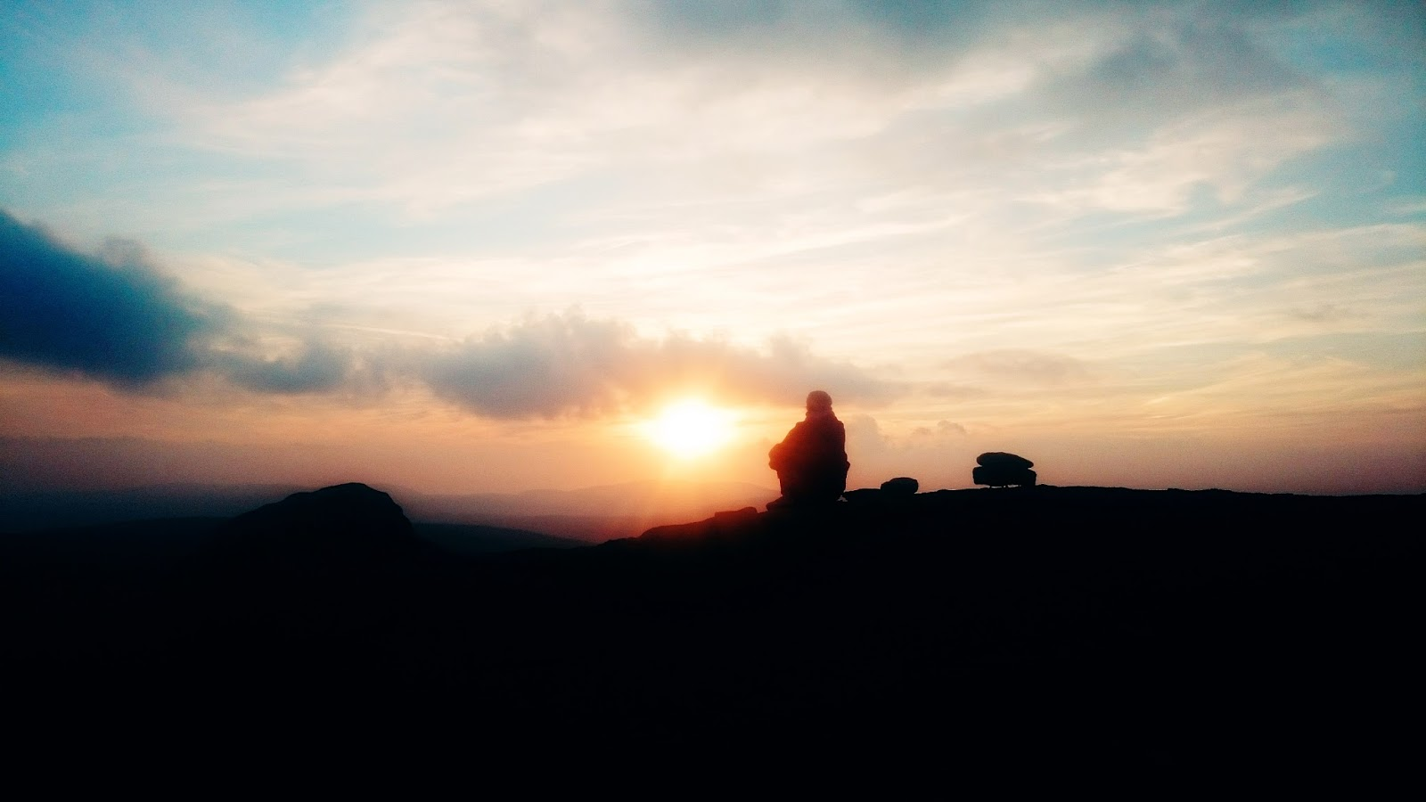 zachód; serendipity, góry, Karkonosze