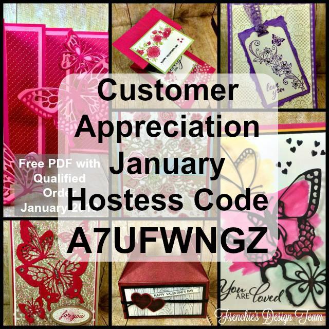 PDF, Free, Customer Appreciation, Stampin UP, Card