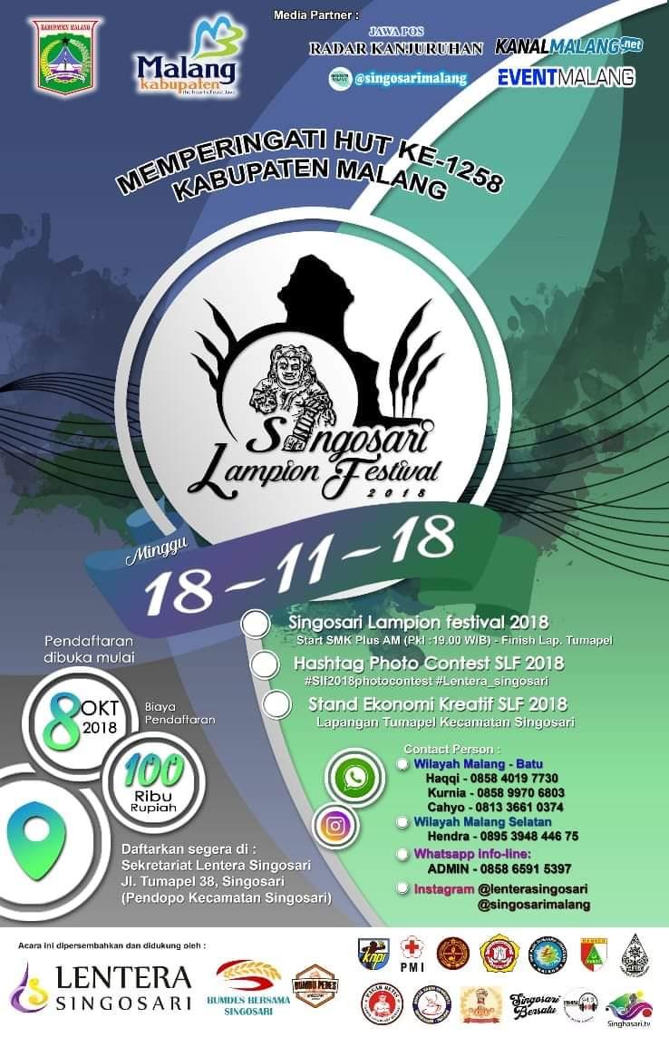 Singosari festival lampion 2018