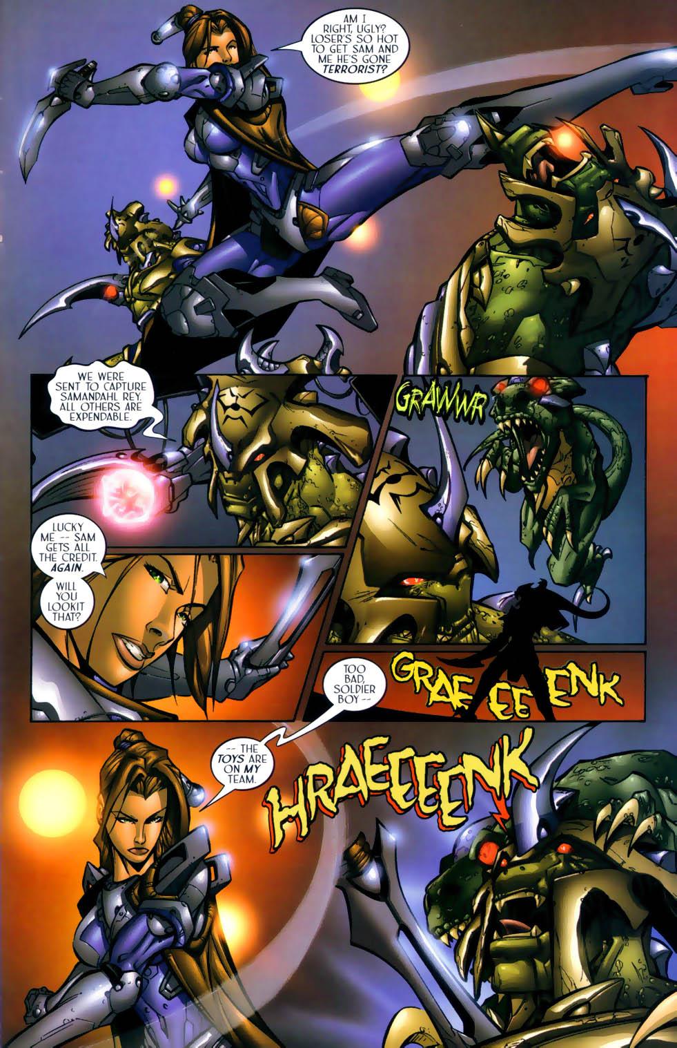 Read online Sigil (2000) comic -  Issue #1 - 20