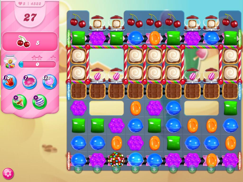 Candy Crush Saga level 4522