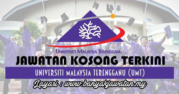 Jawatan Kosong 2017 di Universiti Malaysia Terengganu (UMT) www.banyakjawatan.my