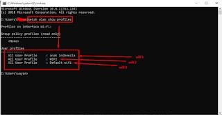 Cara Melihat Password Wifi Dengan Menggunakan CMD Di Windows tanpa menginstall aplikasi pihak ketiga