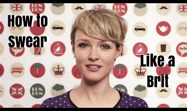 How to Swear Like a Brit