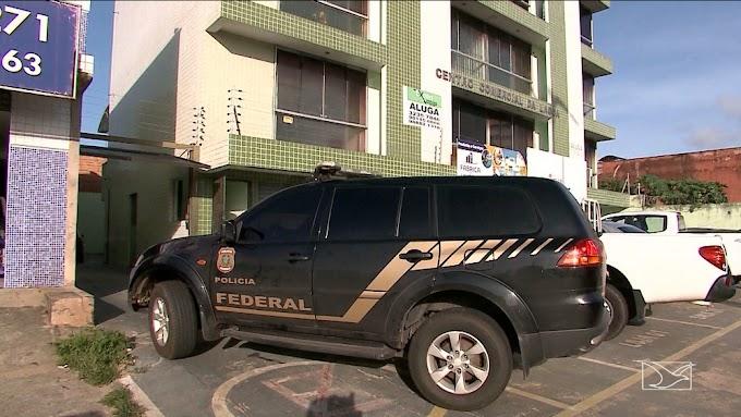 PF ouve suspeitos em esquema de fraude na Saúde do Maranhão