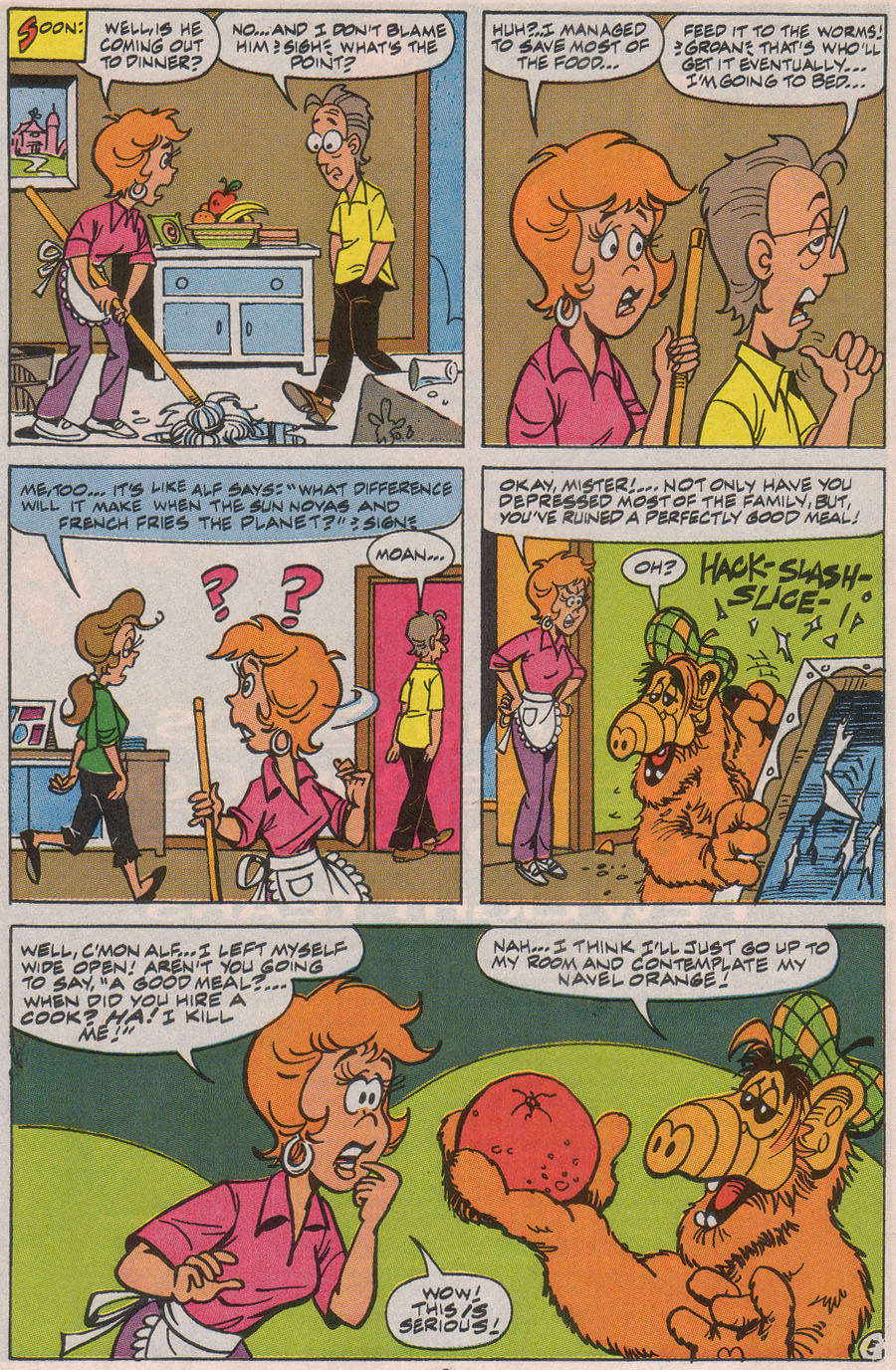 Read online ALF comic -  Issue #45 - 8