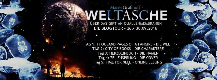 [Blogtour | Gewinnspiel] Blogtour Weltasche. Über das Gift an Quallenmembranen von Marie Graßhoff ~ Tag 4: Die Cover