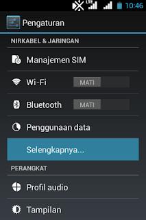 Cara Internetan Gratis Telkomsel Terbaru Tanpa Aplikasi Tambahan di Android<span class=