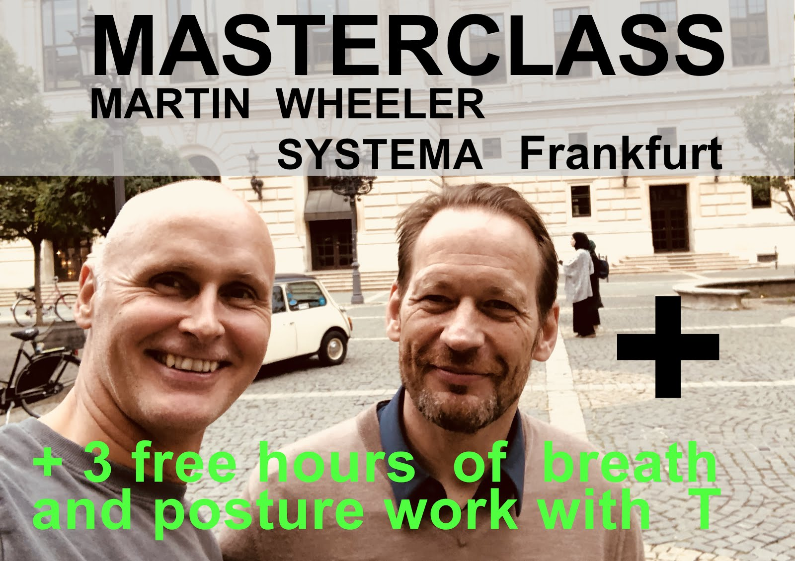 Masterclass 2019 with Martin WHEELER