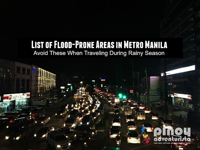 List of Flood-Prone Areas in Metro Manila to Avoid when Traveling during Rainy Season