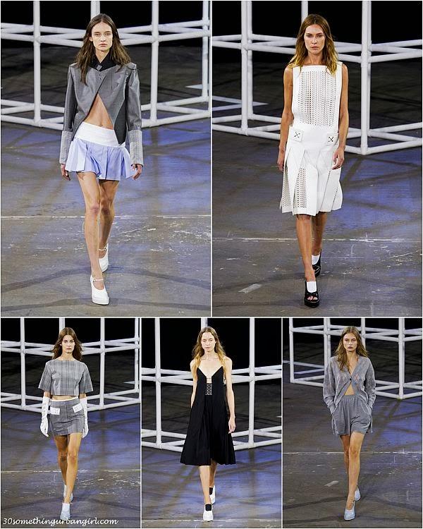 AlexanderWang S/S2014 runway dresses