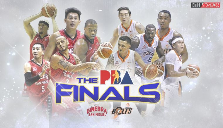 Meralco vs Ginebra PBA Governors' Cup 2016 Finals