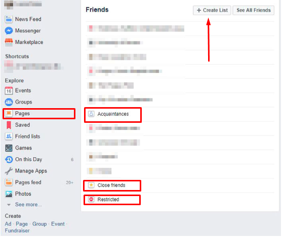How To Make Friends List On Facebook<br/>