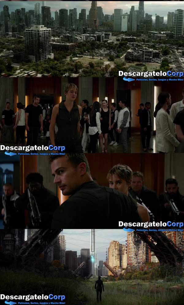 Descargar Divergente la Serie Insurgente HD 720p