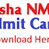 Odisha NMMS Admit Card 2019 Download Here