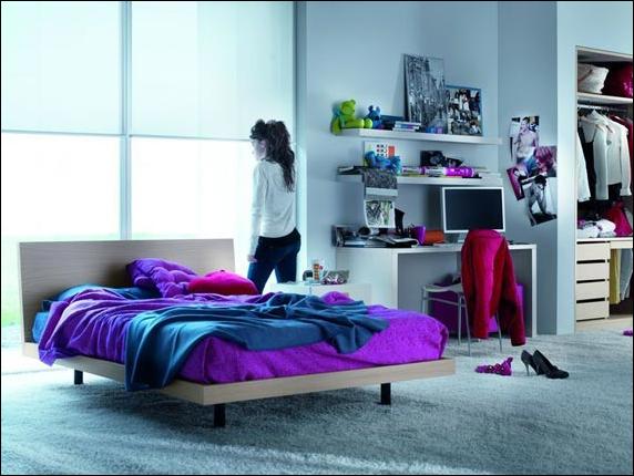 Teen Rooms Modern Simple Bedroom 12