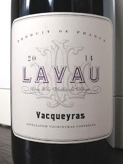 Lavau Vacqueyras 2014 (90 pts)