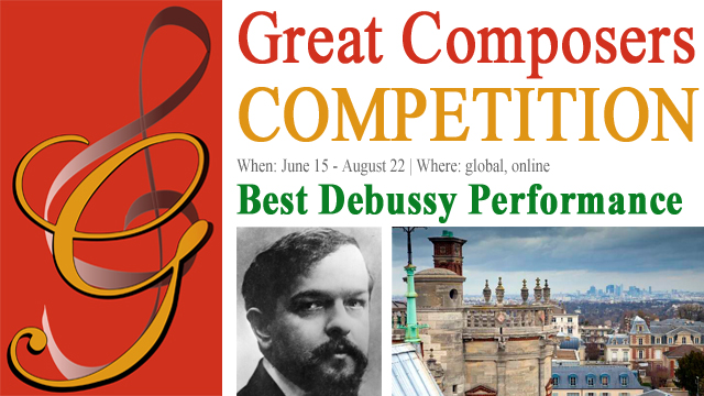 Results: Best Debussy Performance (3rd Edition 2019) | Great