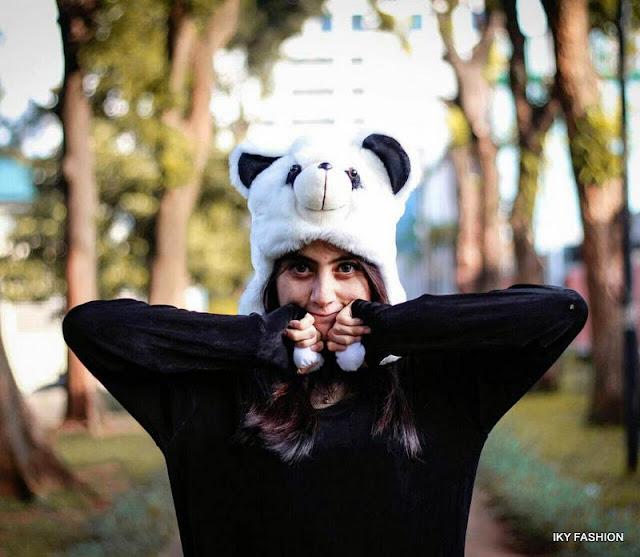 Model Topi Wanita Animals Hats kekinian